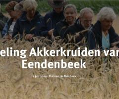 Wandeling akkerkruiden van de eendenbeek