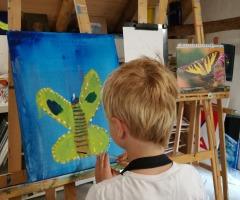 Kinderschilder- & tekenclub de Klodderaars Kunstschool 't Alding