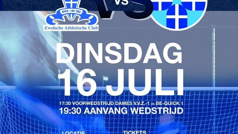 Jubileumwedstrijd Z.A.C. - PEC Zwolle