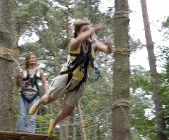 High Ropes Parcours Lutterzand