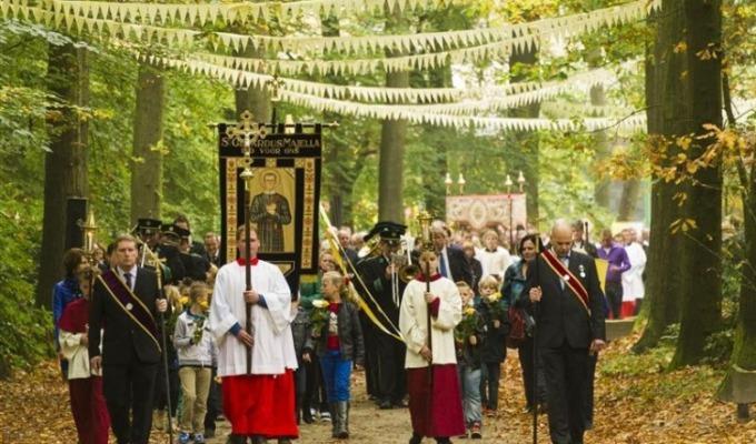 St. Gerardus Majella Processie in Overdinkel