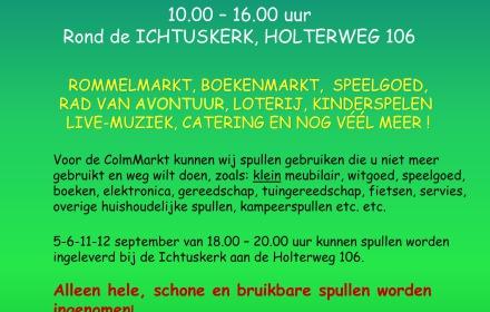 """Rommelmarkt """"De ColmMarkt"""""""