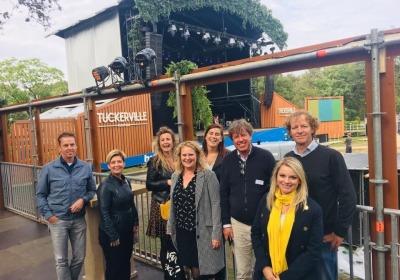 Regio Twente Site Visit met bezoek aan Tuckerville groot succes