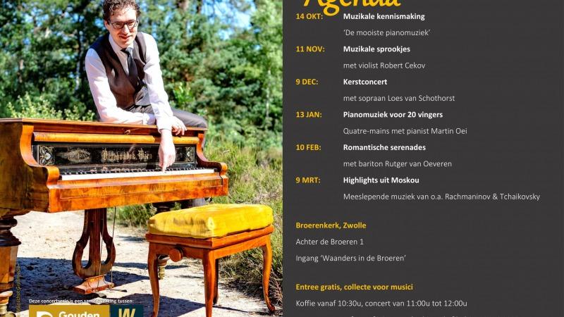 Koffieconcert: pianomuziek van Chopin tot Soerjadi