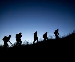 Wandeling Nacht van de Nacht Dal van de Mosbeek