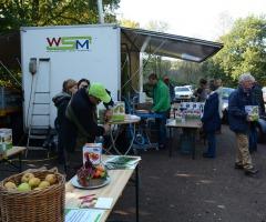 Fruitpersdag in het Dal van de Mosbeek