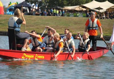 Eerste editie Drakenbootrace  groot succes