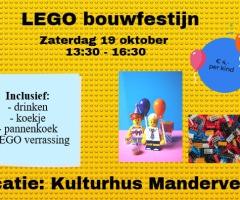 LEGO- bouwfestijn in Manderveen