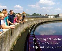 Open dag Rioolwaterzuivering