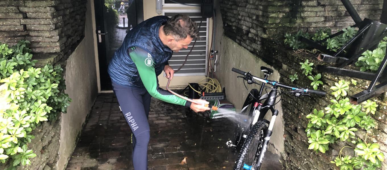 Ook de profs houden van een schone fiets