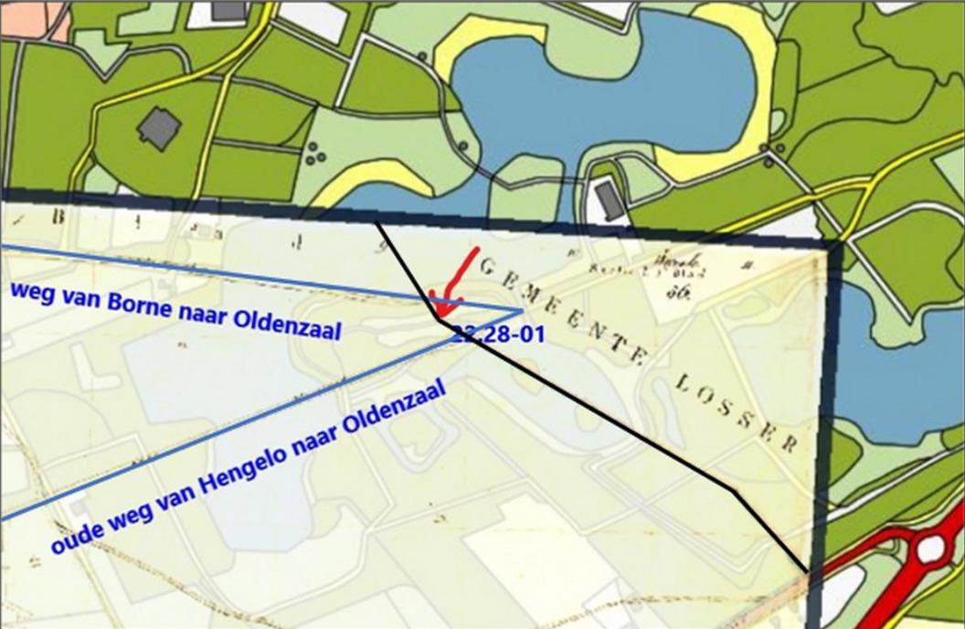 Het Hulsbeek: Markesteen