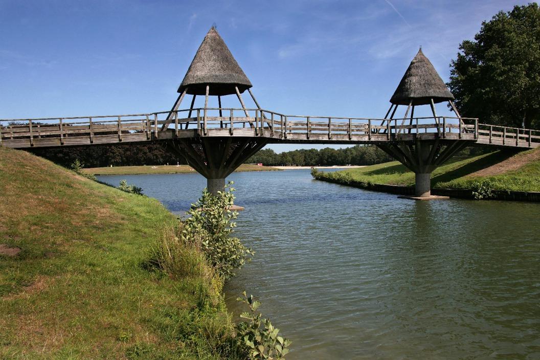 Het Hulsbeek: Zwemvijvers