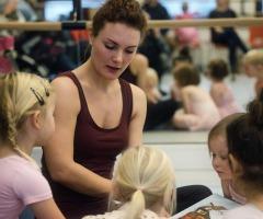 Dansweek bij Kaliber Kunstenschool