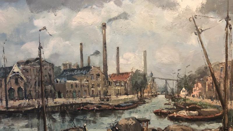Expositie De oude haven van Almelo