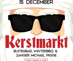 Zanger Michael Pigge en Kerstmarkt