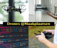vliegen met een drone in de kerstvakantie