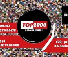 Top 2000 pubquiz bij De Kroeg