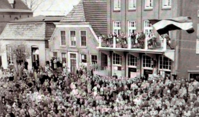 Haaksbergen als 1e bevrijd in Overijssel