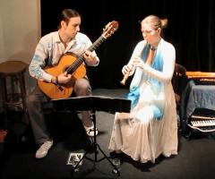 Workshop en concert door het duo NIHZ