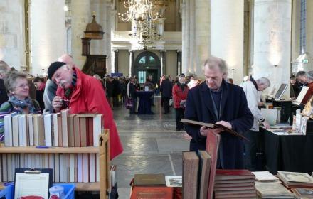 Boeken in de Bergkerk