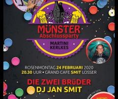 Münster Abschlussparty