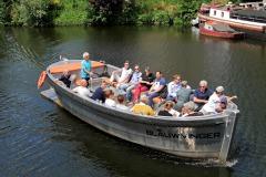 Rondvaart luxe sloep Blauwvinger