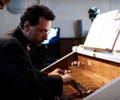 Amuse-concerten: Luca Scandali-orgel