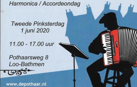 Harmonica / Accordeon dag AFGELAST