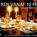 Dineren vanaf 10 personen