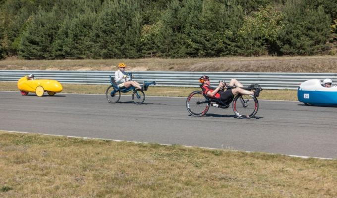 GEANNULEERD 6-12-24 uurs event met ligfietsen