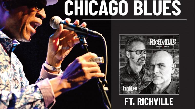 Afgelast - Harmonica Hinds - Chicago Blues Ft. Richville