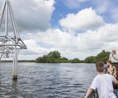 Verdronken dorp - vaarexcursie in De Wieden