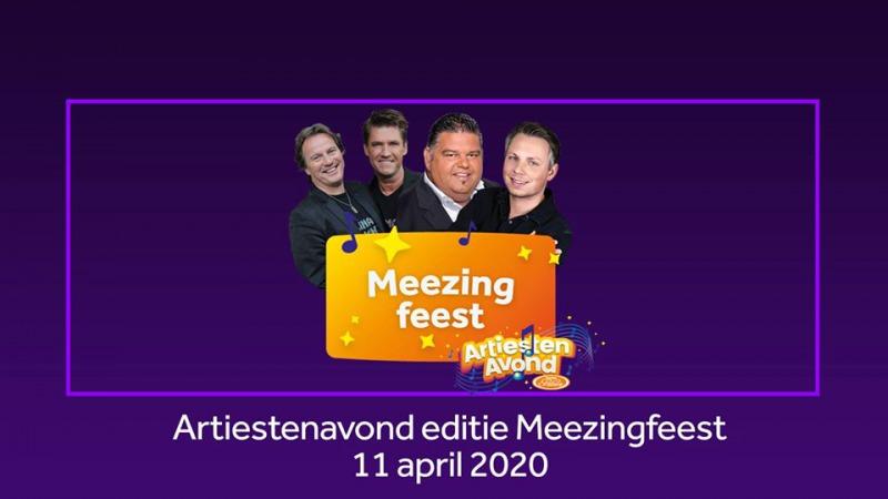 Artiestenavond editie Meezingfeest
