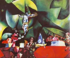 Een lezing aan de hand van beelden van zijn werk. De Christusgestalte van Marc Chagall AFGELAST