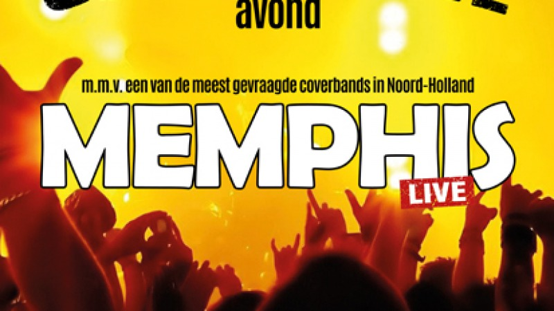 Optreden van coverband Memphis AFGELAST