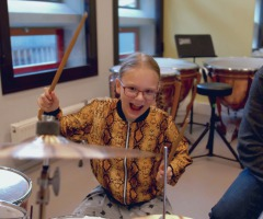 Volg een gratis les drummen of slagwerk!