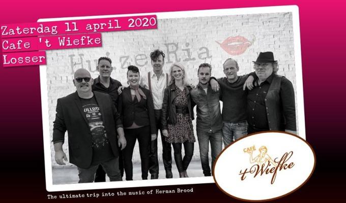 The ultimate trip into the music of Herman Brood bij Cafe 't Wiefke AFGELAST