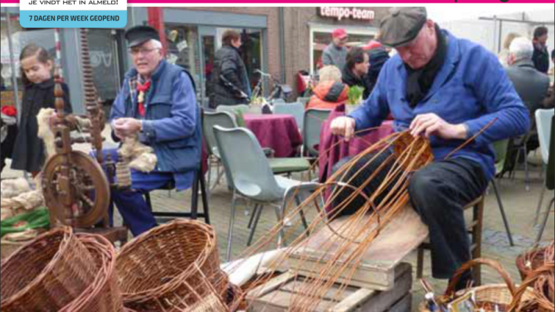 Oud-Hollandse braderie woonboulevard