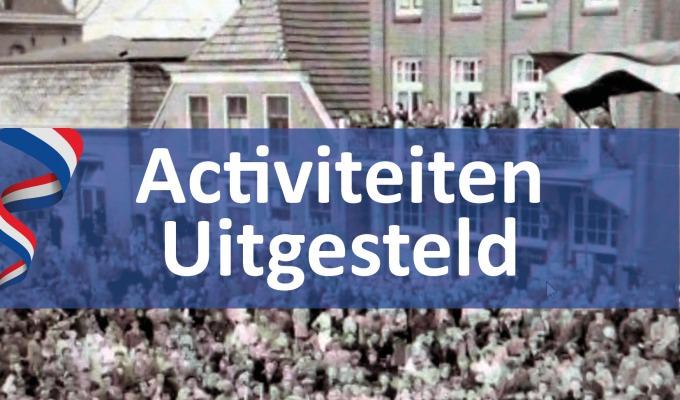 Activiteiten 75 jaar vrijheid voorlopig uitgesteld