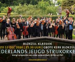 (AFGELAST) Blokzijl Klassiek met het Nederlands Jeugd Strijkorkest