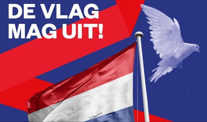 Hang je vlag uit op 1 april, de bevrijdingsdag van Haaksbergen