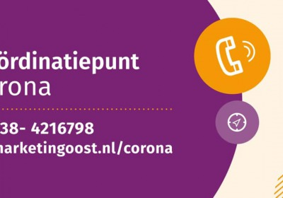Coördinatiepunt Corona voor ondernemers in vrijetijdssector Overijssel van start