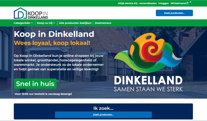 Online shoppen op KoopinDinkelland.nl