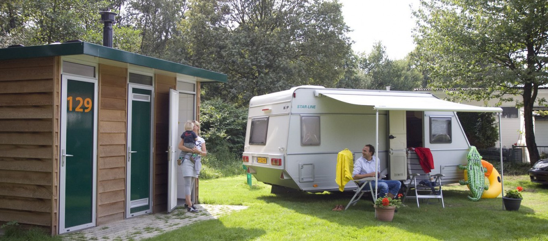 Comfortplaats camping De Witte Berg met privé sanitair