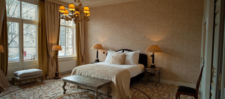 De Grand Suite bij Hotel Huis Vermeer