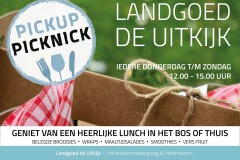 Pick- up Picknick bij Landgoed de Uitkijk