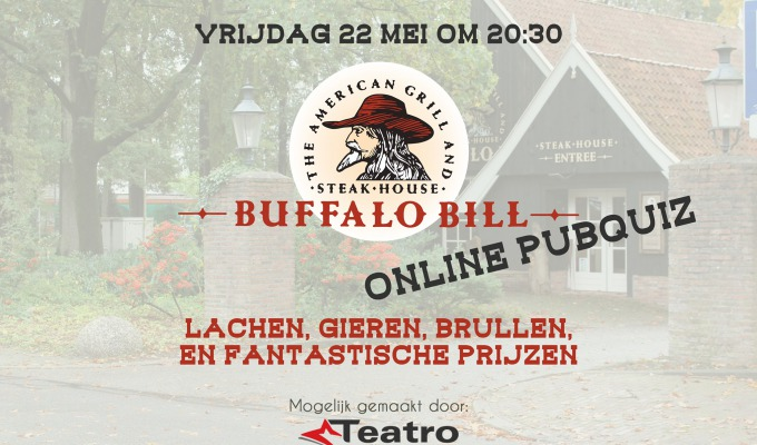 Steakhouse Buffalo Bill Online Pubquiz