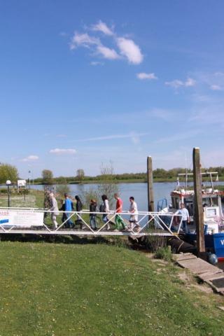 Veerdiensten over de IJssel