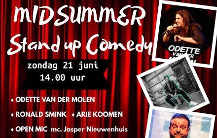 UITVERKOCHT  Midsummer Standup-Comedy middag