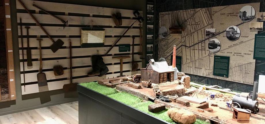 De vernieuwde expositieruimte